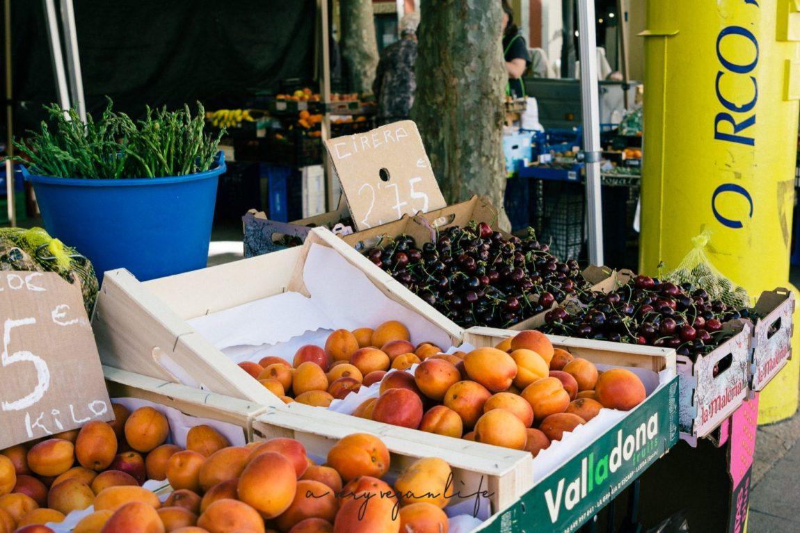 Markt von Vilafranca del Penedès