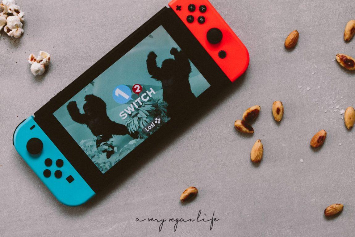 Switch von Nintendo und 1-2 Switch