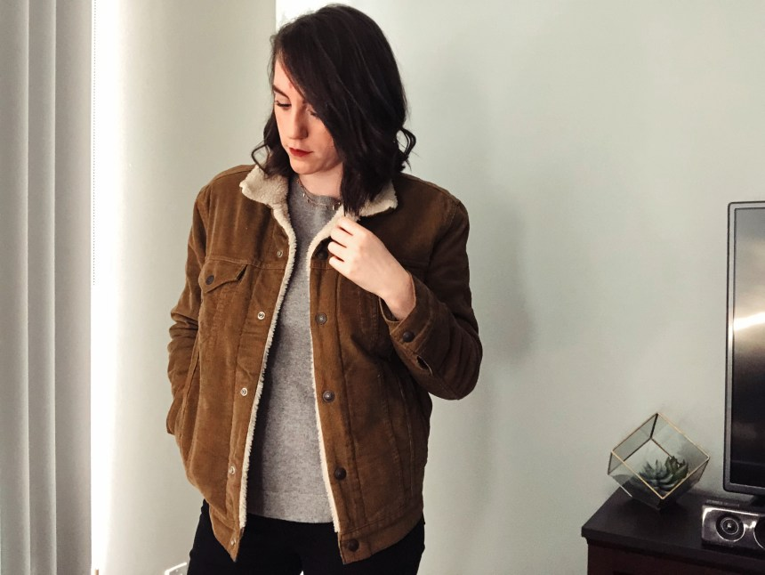 levis brown corduroy jacket