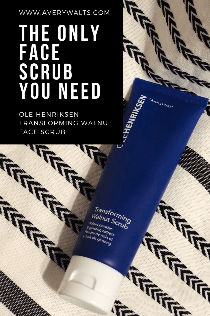 OLE HENRIKSEN FACE SCRUB REVIEW