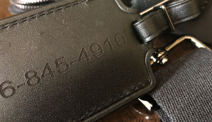 Laser engraving on PI leather