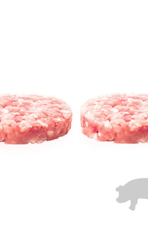 Hamburguesa de cerdo ibérico 100% (2 unidades)