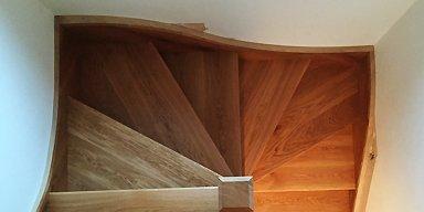 winder wooden stairs installation sydney