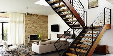 wooden stairs installation Sydney