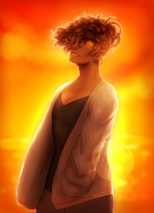 Sunset and Raphael