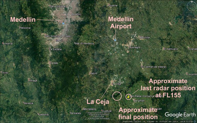 Map (Graphics: AVH/Google Earth)
