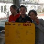 Schüler präsentieren einige alte römische Rezepte