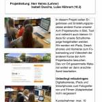 Dokumentation und Präsentation der AvH-Projektwoche, Nr. 3- 10 Plätze