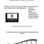 Filmprojekt auf Englisch, Nr. 28 - 20 Plätze
