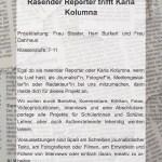 Rasender Reporter trifft Karla Kolumna, Nr. 2 - 24 Plätze
