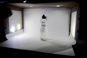 In dieser Fotobox wurde unter anderem diese Trinkflasche fotografiert.