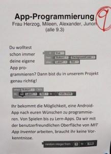 Plakat Projekt 9 in 2018