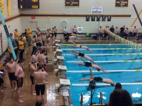 Swimmers' Home Opener