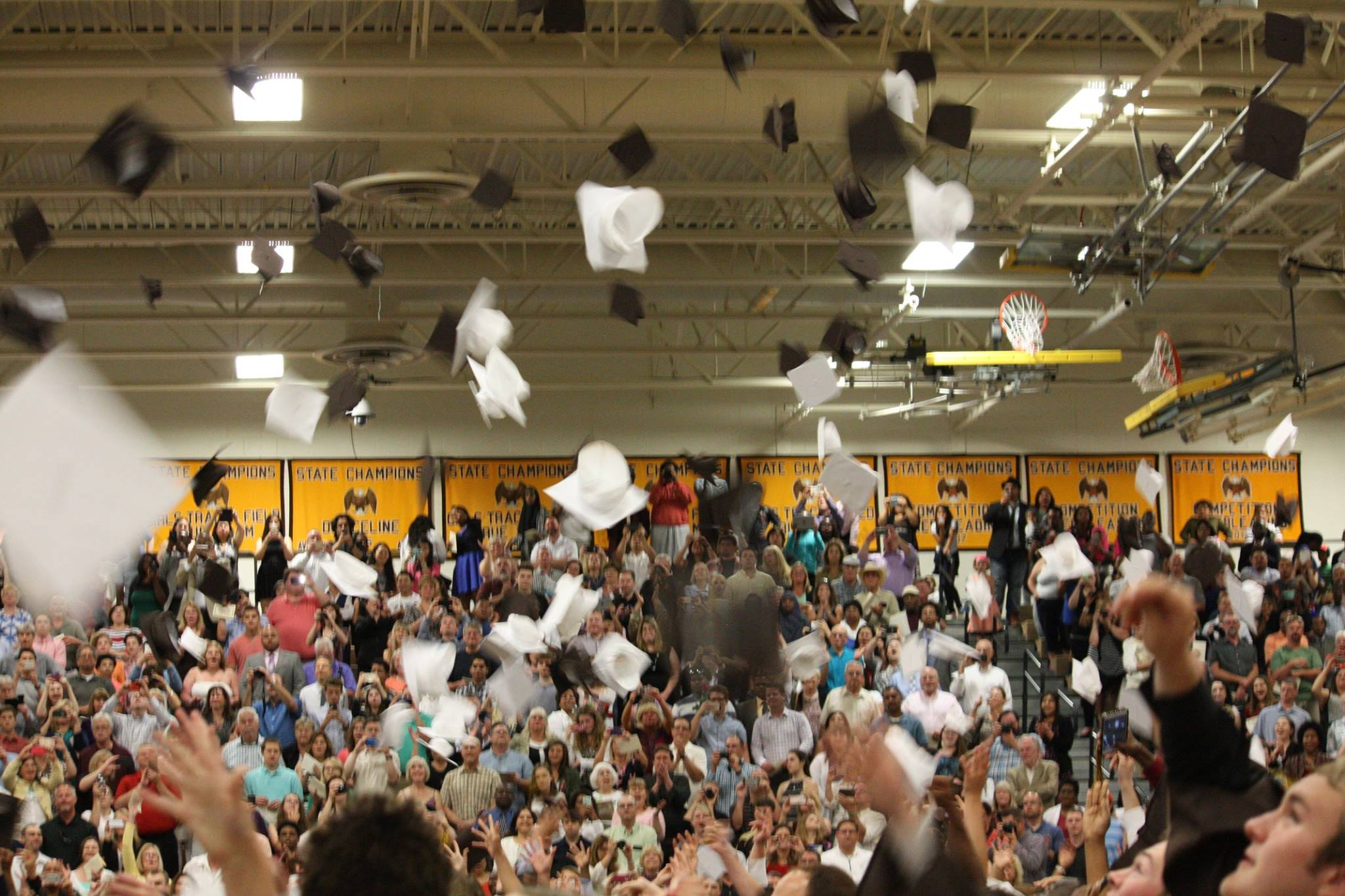 Seniors 'cap off' their time at AVHS