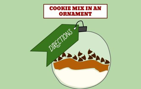 Cookie Mix in an Ornament
