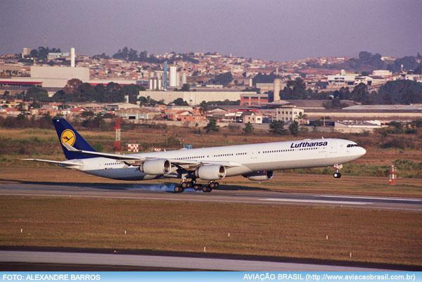 Airbus A340-600, Airbus A340-600, Portal Aviação Brasil