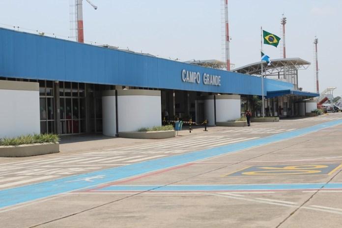 Campo Grande; Aeroporto;, Aeroporto Internacional de Campo Grande, Portal Aviação Brasil
