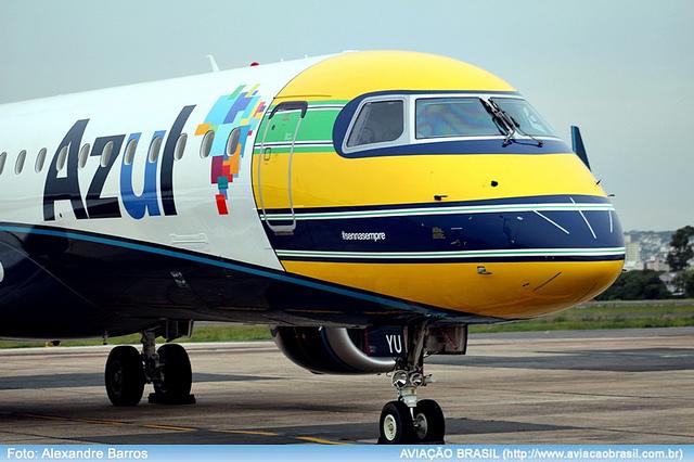 Azul terá novidades no Norte, Sul, em BH e no RJ, Azul terá novidades no Norte, Sul, em BH e no RJ, Portal Aviação Brasil