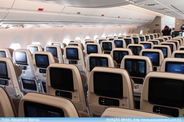 New York e Orlando com Airbus A350 da TAM