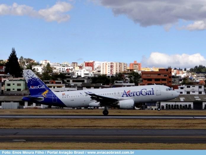 , Aerogal (Equador), Portal Aviação Brasil