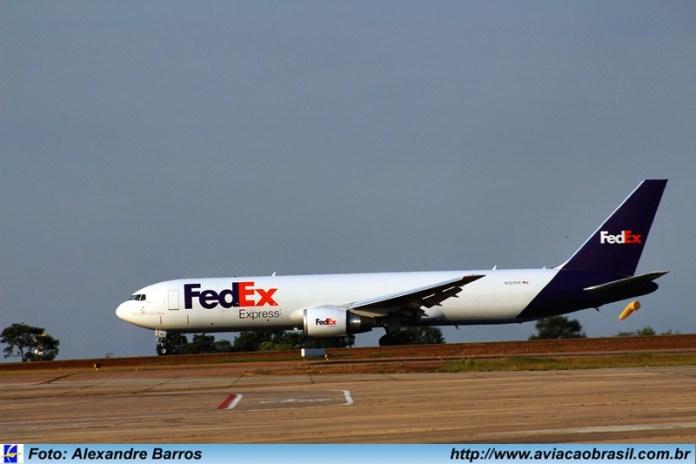 Fedex, Fedex (USA), Portal Aviação Brasil