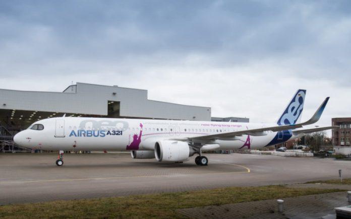 Airbus A321Neo; Airvus;, Airbus apresenta seu primeiro A321neo ACF, Portal Aviação Brasil