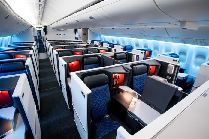 Delta Airlines, Delta Airlines remodela o interior de seu Boeing 777-200ER, Portal Aviação Brasil