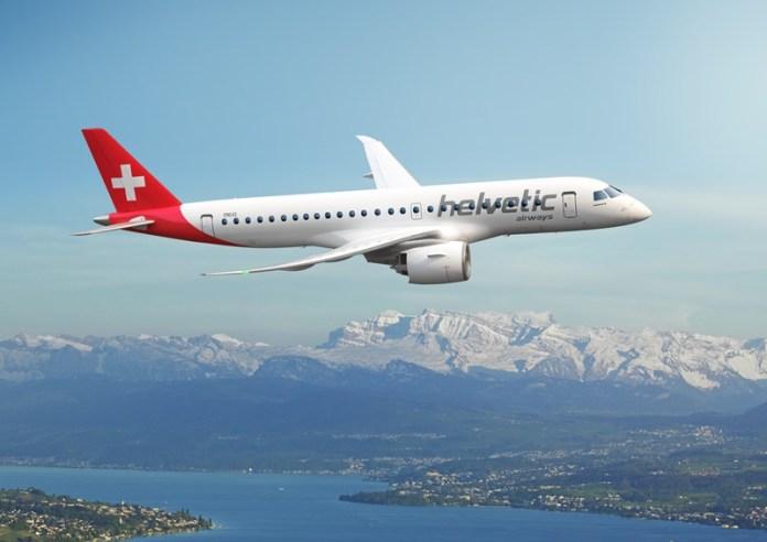 Embraer, Helvetic Airways encomenda 12 jatos Embraer E190-E2, Portal Aviação Brasil