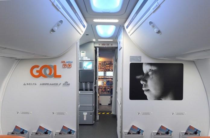 GOL, Arte a bordo na GOL, Portal Aviação Brasil