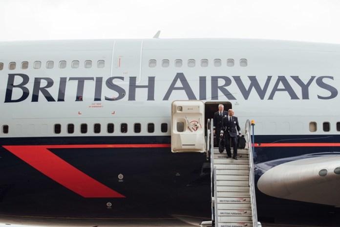 British Airways apresenta terceiro avião com pintura comemorativa de seu centenário