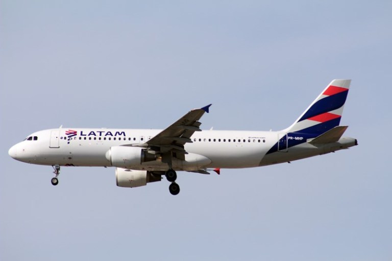 Latam Airlines Brasil anuncia voo direto entre Curitiba e Santiago