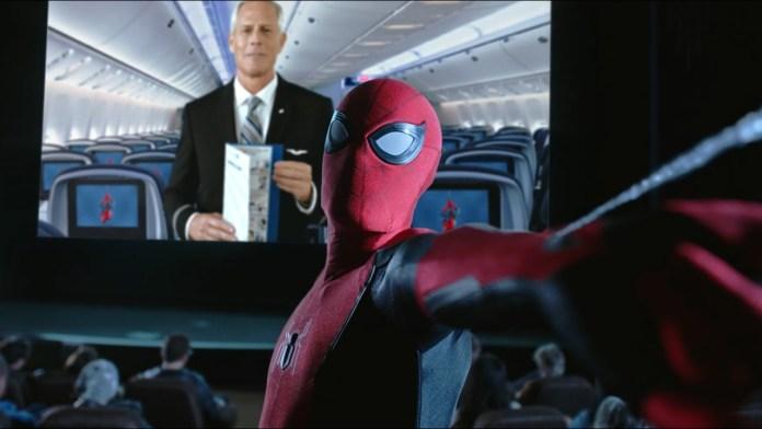 United Airlines, United Airlines apresenta novo vídeo de segurança em parceria com Homem-Aranha, Portal Aviação Brasil