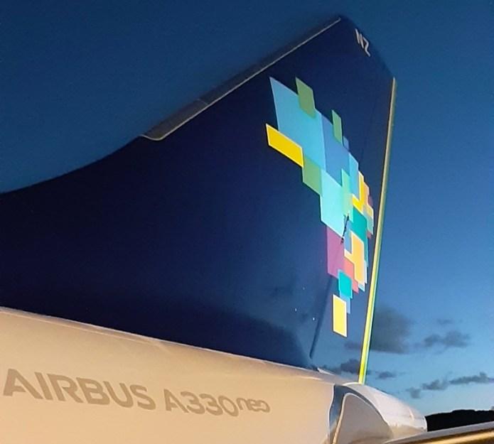 Azul realiza primeiro voo internacional com o Airbus A330neo
