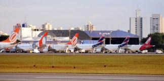7e4ef2c601 ANAC distribui slots para novas empresas em Congonhas · Foto: Cabo Verde  Airlines