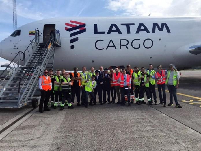 Latam Cargo, Latam Cargo ligará América do Sul com Copenhague, Portal Aviação Brasil