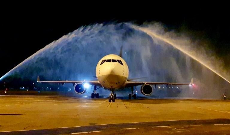 Lufthansa Cargo também em Recife