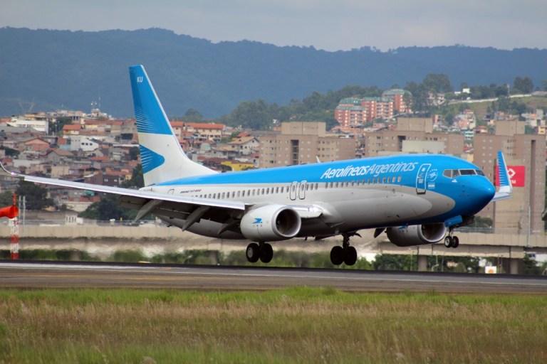 Aerolineas Argentinas retomará até janeiro de 2021 toda a malha brasileira
