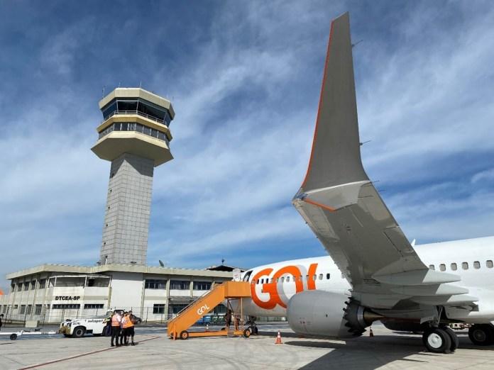 Gol realiza seu primeiro voo do Boeing 737 Max com passageiros