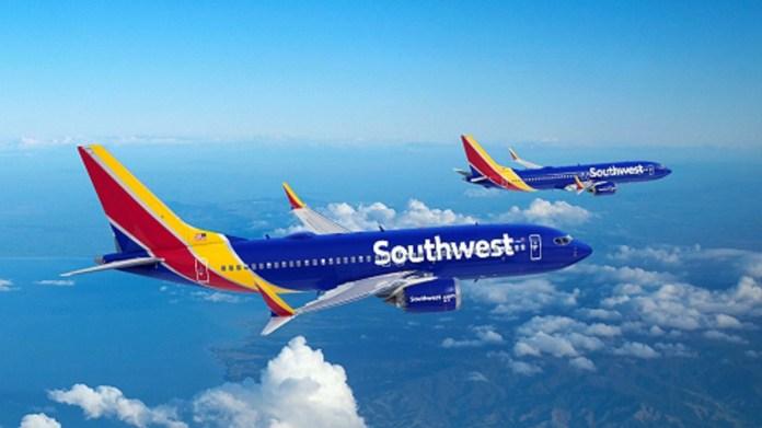 Southwest faz encomenda expressiva de aeronaves da Boeing