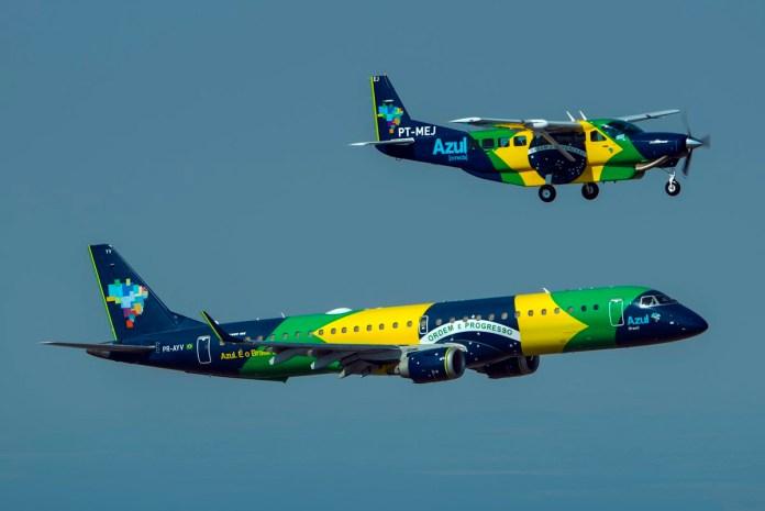 Azul assume a dianteira do mercado de aviação doméstico no primeiro trimestre de 2021