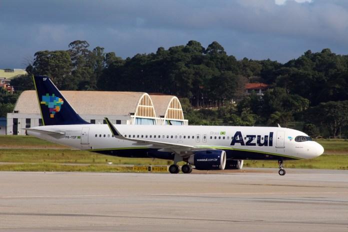 Azul contará com 35 aeronaves com sistema de Wi-Fi Grátis a bordo ainda em 2021