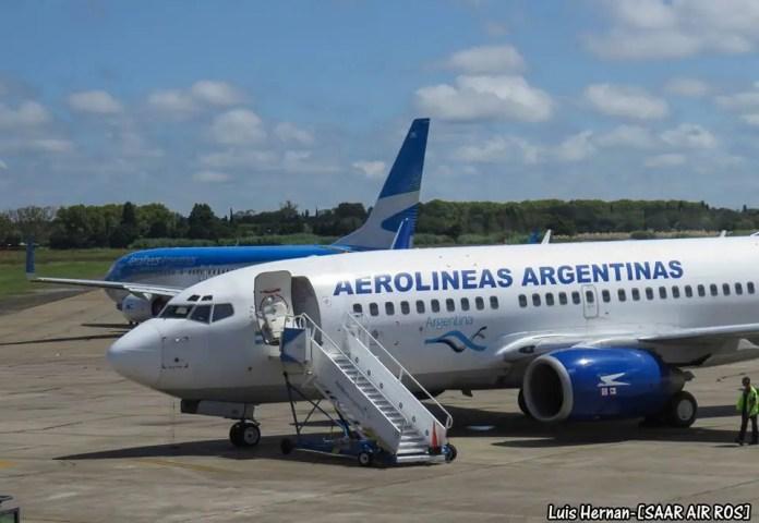 Aeropuerto de Rosario (Foto: Luis Hernán - SAAR AIR ROS SPOTTERS)