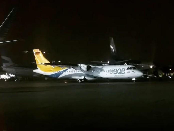 ATR 72-500 CX-JCL de BQB (Foto: https://twitter.com/andresi_10/)