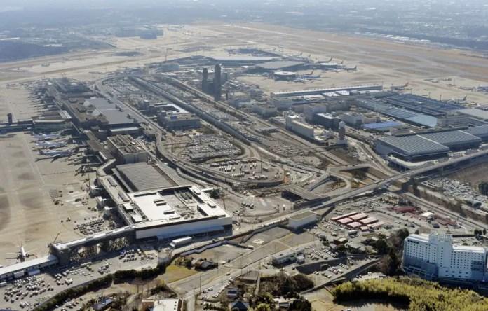 Vista aérea de las terminales de Narita (Foto: Japan Times)
