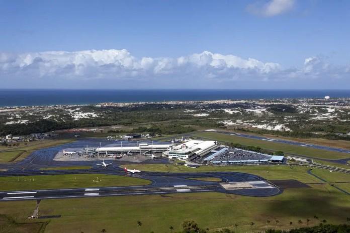 Aeropuerto de Salvador (Foto: Portal da Copa - Gobierno de Brasil)