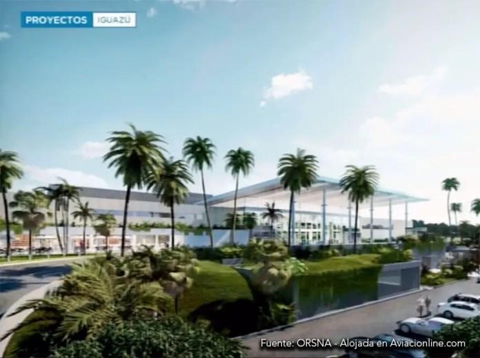 Nueva terminal del aeropuerto de Pto. Iguazú