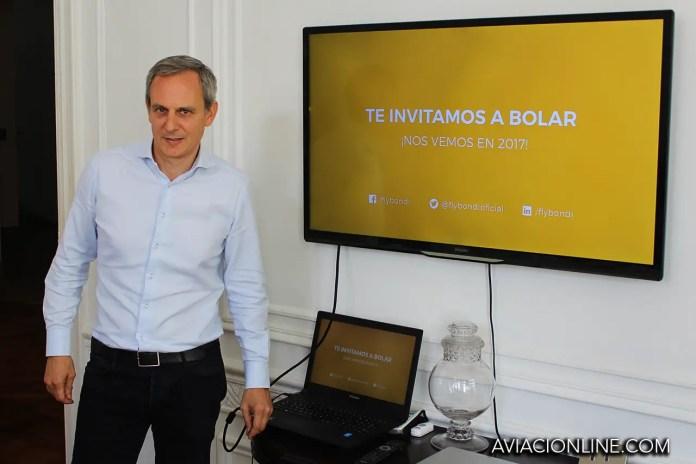 Julian Cook - Presidente de Flybondi