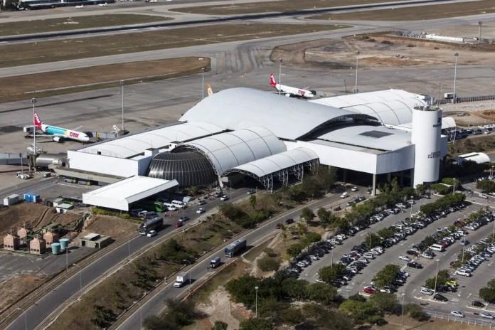 Aeropuerto de Fortaleza (Foto: Portal da Copa - Gobierno de Brasil)