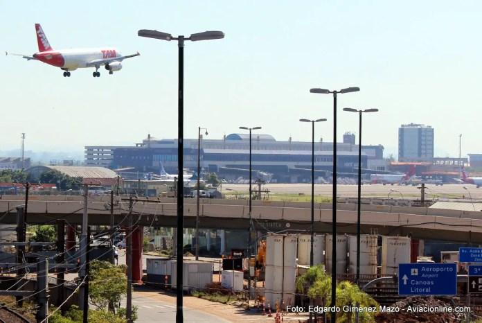 """Aeropuerto """"Salgado Filho"""" de Porto Alegre"""
