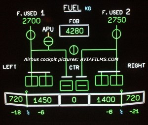 A320 Fuel Panel, A320, Free Engine Image For User Manual Download